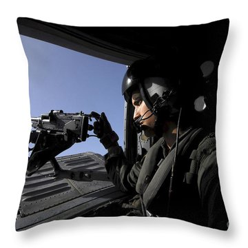 Aviation Warfare Systems Operator Throw Pillow by Stocktrek Images