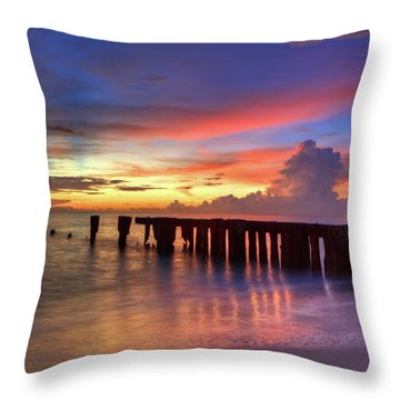 Beautiful Sky Throw Pillow