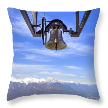 Bell In Heaven Throw Pillow by Joana Kruse
