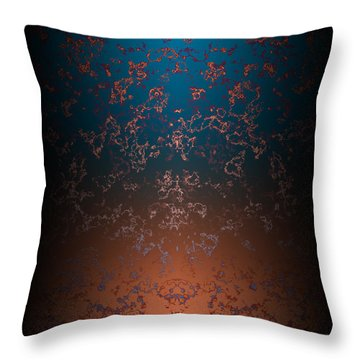 Beyond Lava Lamps Throw Pillow by Christopher Gaston