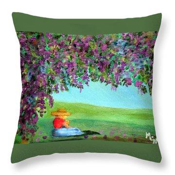 Beyond The Arbor Throw Pillow