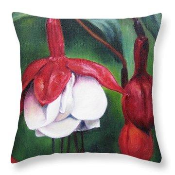 Big Bold And Beautiful Throw Pillow