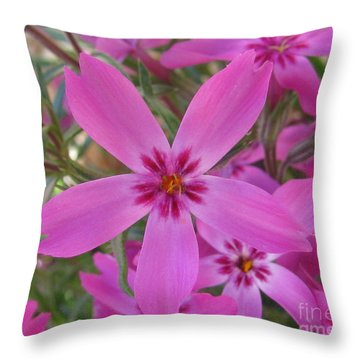 Blissful Throw Pillow by Tina Marie