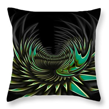 Blossom Throw Pillow by Christopher Gaston