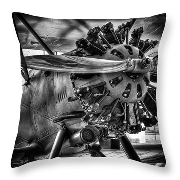 Boeing Model 100 Throw Pillow