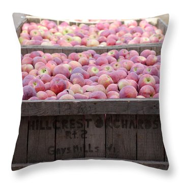 Throw Pillow featuring the photograph Bountiful by Linda Mishler
