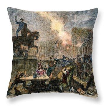 Bristol: Reform Riot, 1831 Throw Pillow by Granger