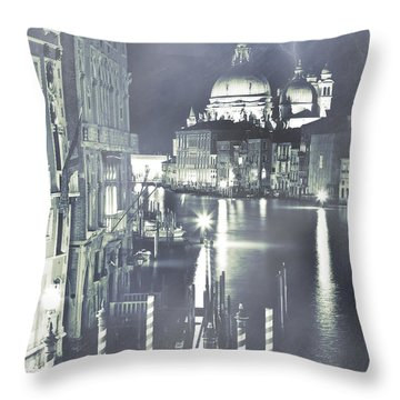 Canal Grande Throw Pillow by Joana Kruse