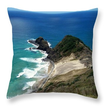 Cape Reinga - North Island Throw Pillow