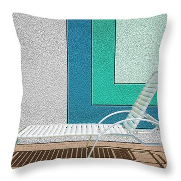 Chaising Throw Pillow by Paul Wear
