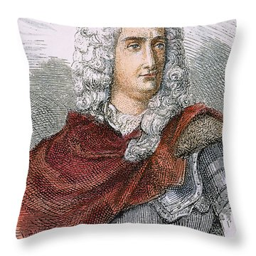 Charles-francois Du Fay Throw Pillow by Granger