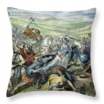 Charles Martel (c688-741) Throw Pillow by Granger
