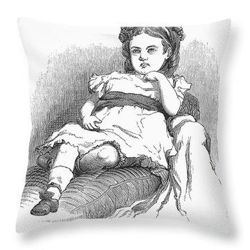 Children: Types Throw Pillow by Granger