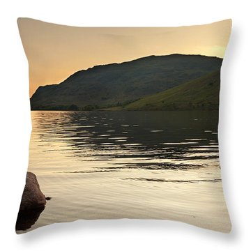 Close To Water Throw Pillow by Svetlana Sewell