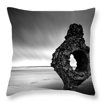 Coastline Throw Pillow by Svetlana Sewell