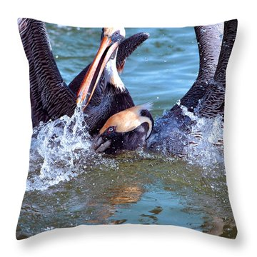 Competition Throw Pillow