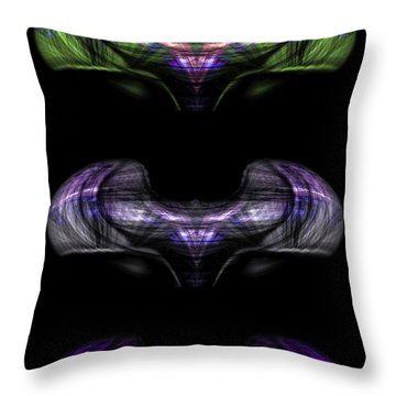 Continuum Throw Pillow by Christopher Gaston