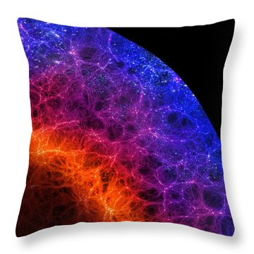 Cosmic Dark Ages Throw Pillow by Don Dixon