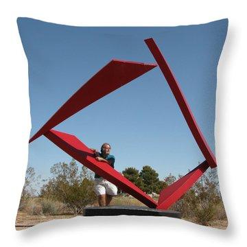 Counterpoint Throw Pillow by John Neumann