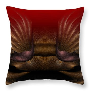 Crab Throw Pillow by Christopher Gaston