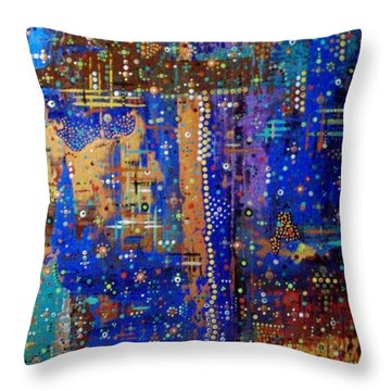Design For Meditation Throw Pillow