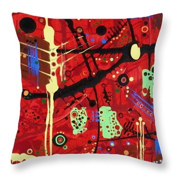 Dia De Muertos Throw Pillow