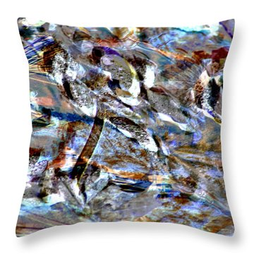Digital Fall Throw Pillow by LeeAnn McLaneGoetz McLaneGoetzStudioLLCcom