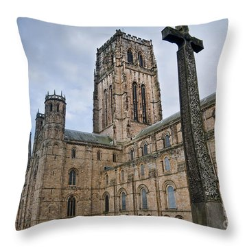 Durham Cathedral Throw Pillow