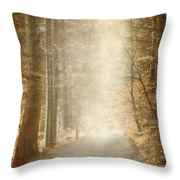 Early Morning Throw Pillow by Svetlana Sewell