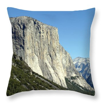 El Capitan Throw Pillow by Henrik Lehnerer