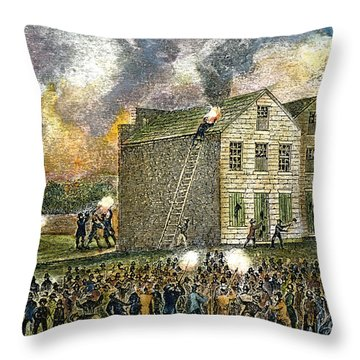 Elijah Parish Lovejoy Throw Pillow by Granger