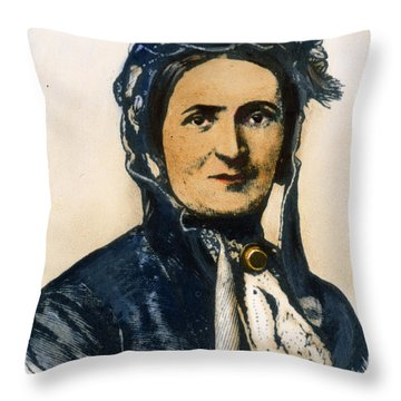 Ellen Craft (b.1826) Throw Pillow by Granger