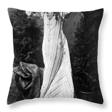 Ellen Terry (1847-1928) Throw Pillow by Granger