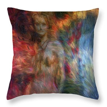 Emergence II Throw Pillow by Tyler Robbins