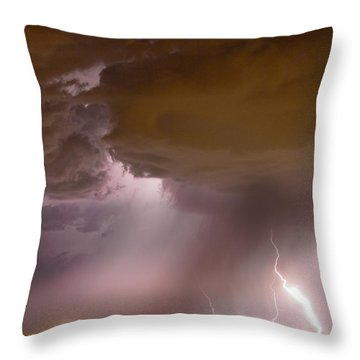 Energy Throw Pillow by James BO  Insogna