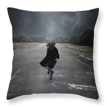 Escape Throw Pillow by Joana Kruse