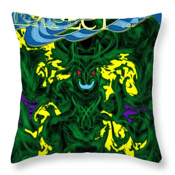 Expect The Unexpected Throw Pillow by Christopher Gaston