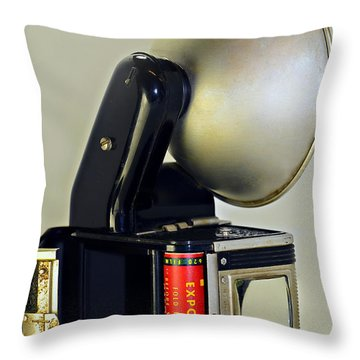 Exposed Throw Pillow by Susan Leggett