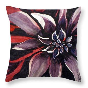 Extravaganza Throw Pillow by Debi Singer