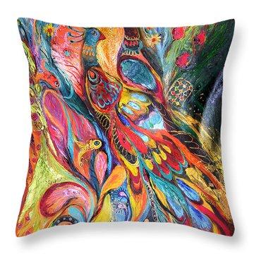 Falling In Love Throw Pillow by Elena Kotliarker