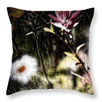Field Of Feelings  Throw Pillow by Jerry Cordeiro