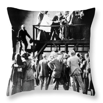 Film: Intolerance, 1916 Throw Pillow by Granger