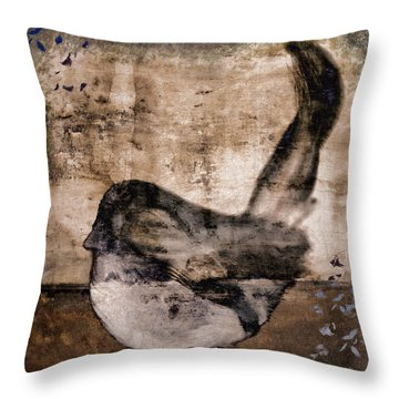Fledgling Throw Pillow