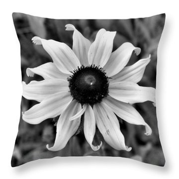 Throw Pillow featuring the photograph Flower by Brian Hughes