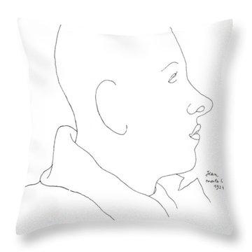 Francis Poulenc (1899-1963) Throw Pillow by Granger