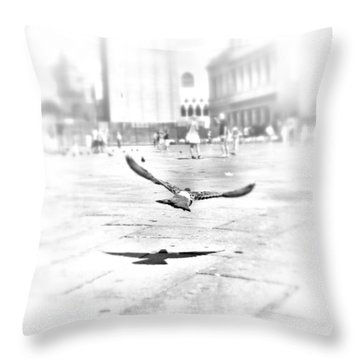 Freedom Throw Pillow by Marianna Mills
