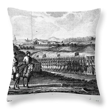 French Revolution, 1794 Throw Pillow by Granger