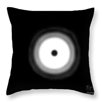 Fresnel Diffraction Throw Pillow by Omikron