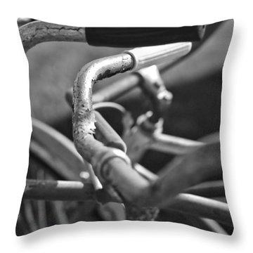 Get A Grip Throw Pillow by Gordon Dean II