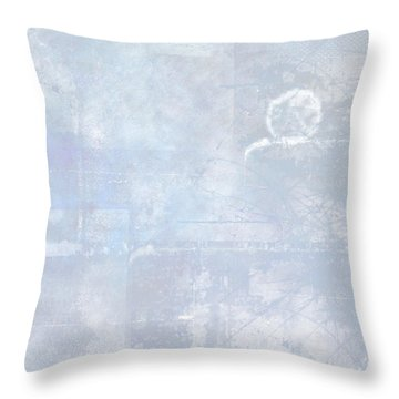 Glacial Throw Pillow by Christopher Gaston